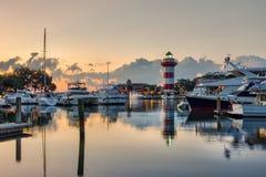 Sereniteit op Hilton Head Island stock fotografie