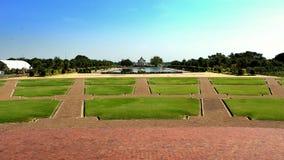 Serenitet på Phutthamonthon Arkivbilder