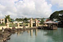 Serenitet parkerar, Castries, Saint Lucia Fotografering för Bildbyråer
