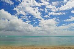 Serenity. Nice serene view of Mauritius shoreline Royalty Free Stock Photo