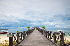 Serenity Boardwalk Stock Photos