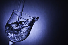Serenity bubbles in water Stock Images