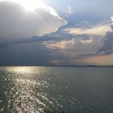 Serenity. Calmness before the storm Stock Image