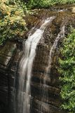 Serenity Falls in Buderim. Serenity Falls in Buderim, Sunshine Coast, Australia. Located in the Buderim Forest waterfall walk Royalty Free Stock Photography
