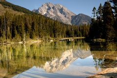 Serenity Of Grand Teton Royalty Free Stock Photos