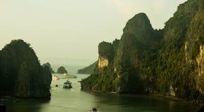 Serenity in Ha Long Bay Royalty Free Stock Image