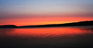Serenity. Keuka dawn bluff Stock Photography