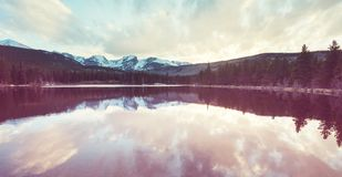 Mountains lake Royalty Free Stock Images