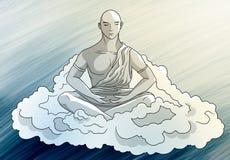 Serenity of meditation Stock Photos