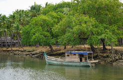 Serenity river in Vietnam Stock Photos