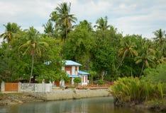 Serenity river in Vietnam Stock Photo