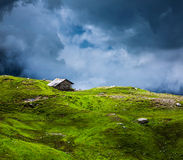 Serenity serene lonely scenery background concept Stock Images