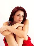 serenitykvinna Fotografering för Bildbyråer