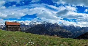 Serfaus en el Tyrol Imagen de archivo libre de regalías