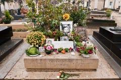 Serge Gainsbourg Parigi immagine stock