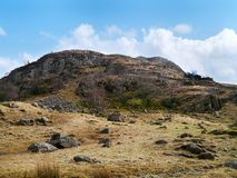 Sergeant`s Crag area, Lake District Stock Image