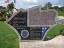 SergeantPeregory National Guard monument Normandie Fotografering för Bildbyråer