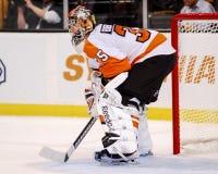 Sergei Bobrovsky Philadelphia Flyers Imágenes de archivo libres de regalías