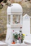 Sergei Diaghilev grób, San Michele cmentarz, Wenecja, Włochy fotografia stock