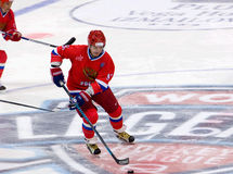 Sergei Fedorov (91) in action Stock Photography