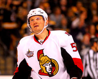 Sergei Gonchar Ottawa Senators Stock Photo