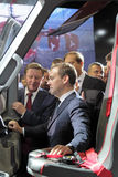 Sergei Ivanov and Dmitry Medvedev Royalty Free Stock Photography