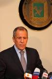 Sergei Lavrov Fotos de archivo