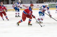 Sergei Shirokov 52 in attack Royalty Free Stock Image