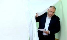 Sergei Stanishev, chef du Parti Socialiste bulgare et président du parti des socialistes européens Images stock