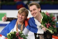 Sergei VORONOV and Konstantin MENSHOV Stock Photography