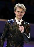 Sergei VORONOV (RUS) avec la médaille de bronze Photos libres de droits