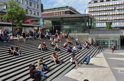 Sergel Square Stock Image