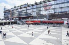 Sergels torg, sergels τετράγωνο, Στοκχόλμη στοκ φωτογραφία με δικαίωμα ελεύθερης χρήσης