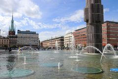 Sergels Torg, Stockholm Royalty Free Stock Images