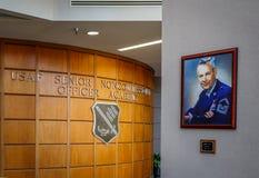 Sergent principal en chef de l'Armée de l'Air Paul W Airey Photo stock