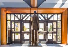 Sergent principal en chef Richard D Statue de Kisling Photographie stock