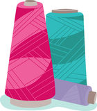 Serger Cones Royalty Free Stock Image