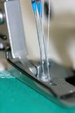Serger sewing machine needles Royalty Free Stock Images