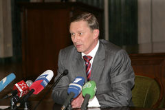 Sergey Borisovich Ivanov image stock