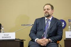 Sergey Donskoy Arkivfoto
