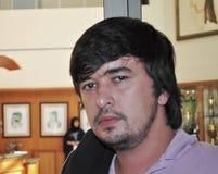 Sergey Kayumov Chess Grand Master Royalty Free Stock Photos