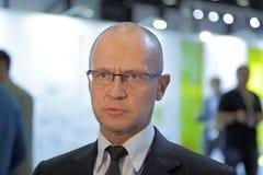 Sergey Kiriyenko. SAINT-PETERSBURG, RUSSIA - JUN 16, 2016: St. Petersburg International Economic Forum SPIEF-2016. Sergey Kiriyenko - Russian statesman and Royalty Free Stock Image