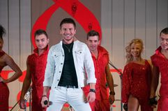 Sergey Lazarev Russian actor and singer Stock Images