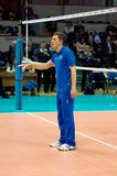Sergey Ovchinnikov. Bus van het team van Moskou van de Dynamo Royalty-vrije Stock Afbeeldingen