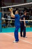 Sergey Ovchinnikov. Coach of Dynamo Moscow team Royalty Free Stock Photography