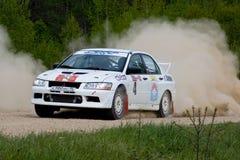 Sergey Perosyan on Mitsubishi Lancer Royalty Free Stock Photos
