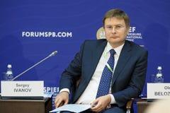Sergey Sergeevich Ivanov Photographie stock