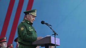 Sergey Shoygu stock video footage