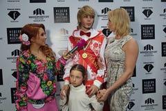 Sergey Zverev i Anastasia Volochkova Obraz Royalty Free