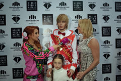 Sergey Zverev i Anastasia Volochkova Zdjęcie Royalty Free
